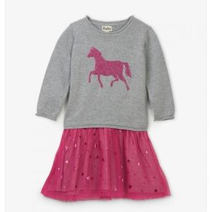Hatley Dresses - Hayley Sparkle Drop Waste Tulle Dress